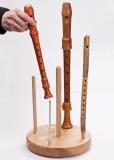 Blockflötenständer 5er komplett